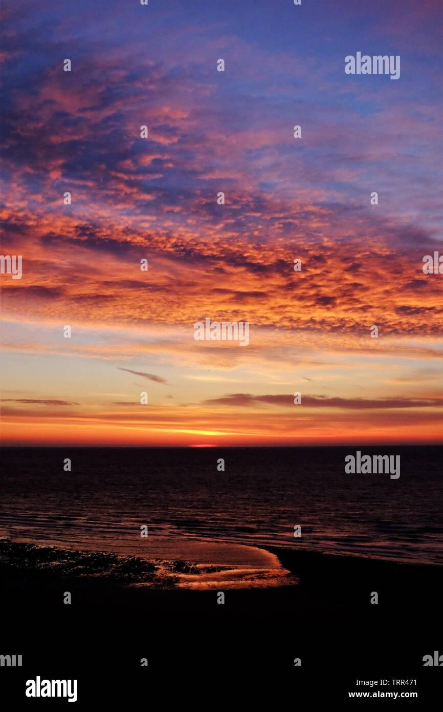 Ramsgate sunrise - Stock Image