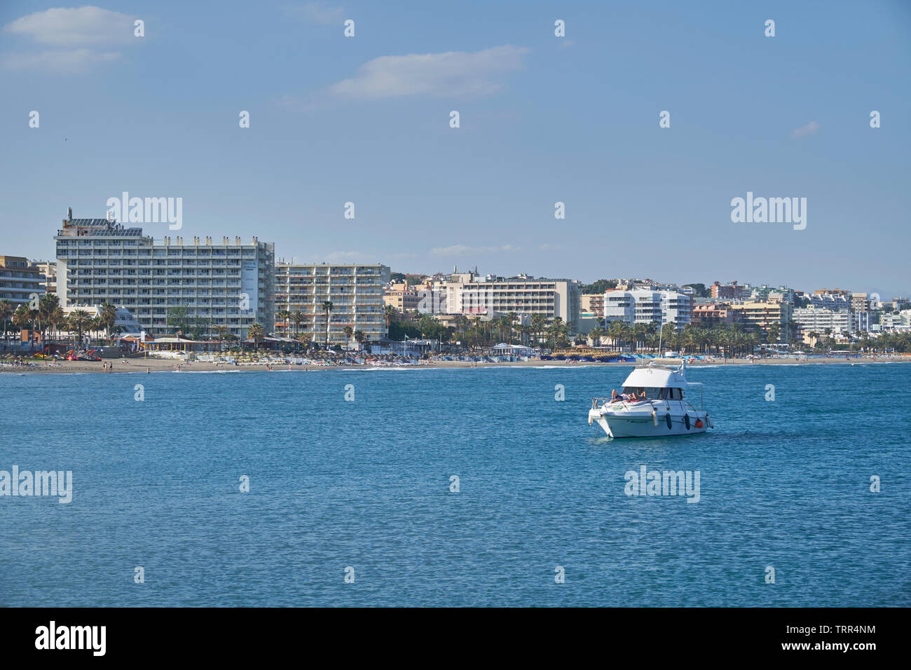 View of Torremolinos. Málaga province, Andalusia, Spain. Stock Photo