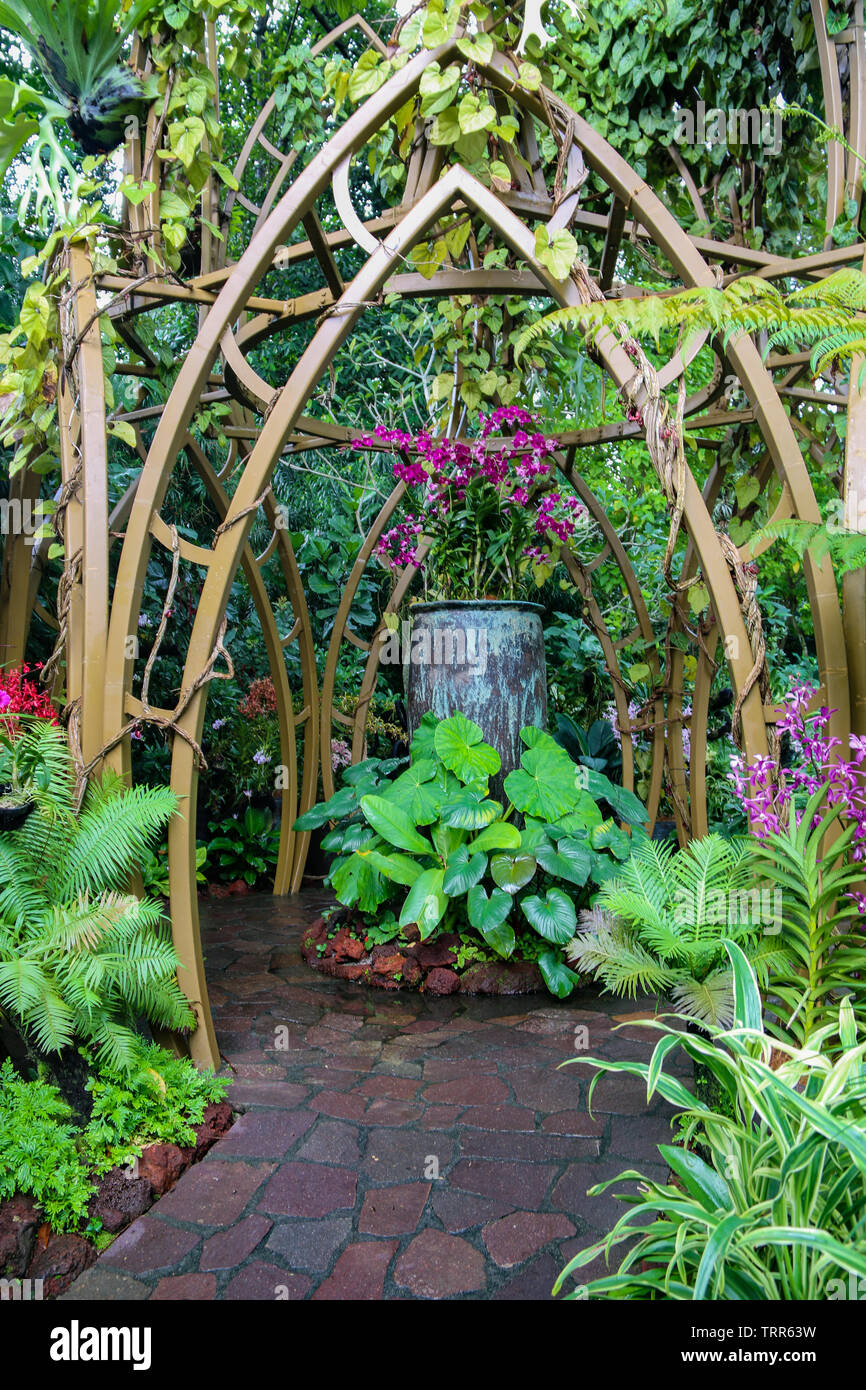 Enchanted Garden High Resolution Stock Photography And Images Alamy