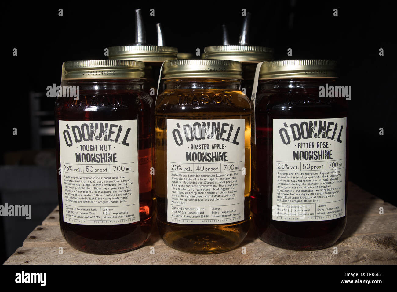O'Donnell Moonshine - Stock Image