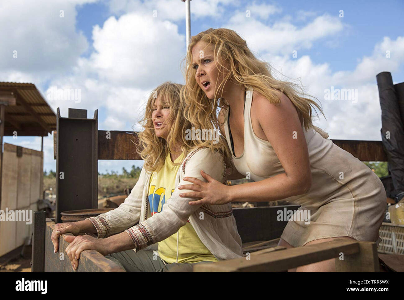 SNATCHED 2017 film with Goldie Hawn at left and Amy Schumer - Stock Image