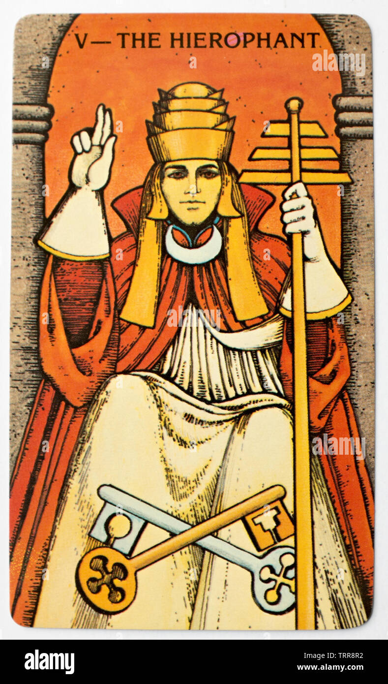 The Hierophant Stock Photos & The Hierophant Stock Images