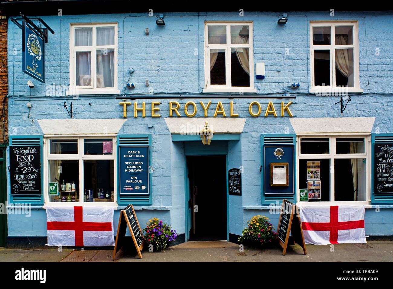 The Royal Oak, Malton, North Yorkshire, England Stock Photo