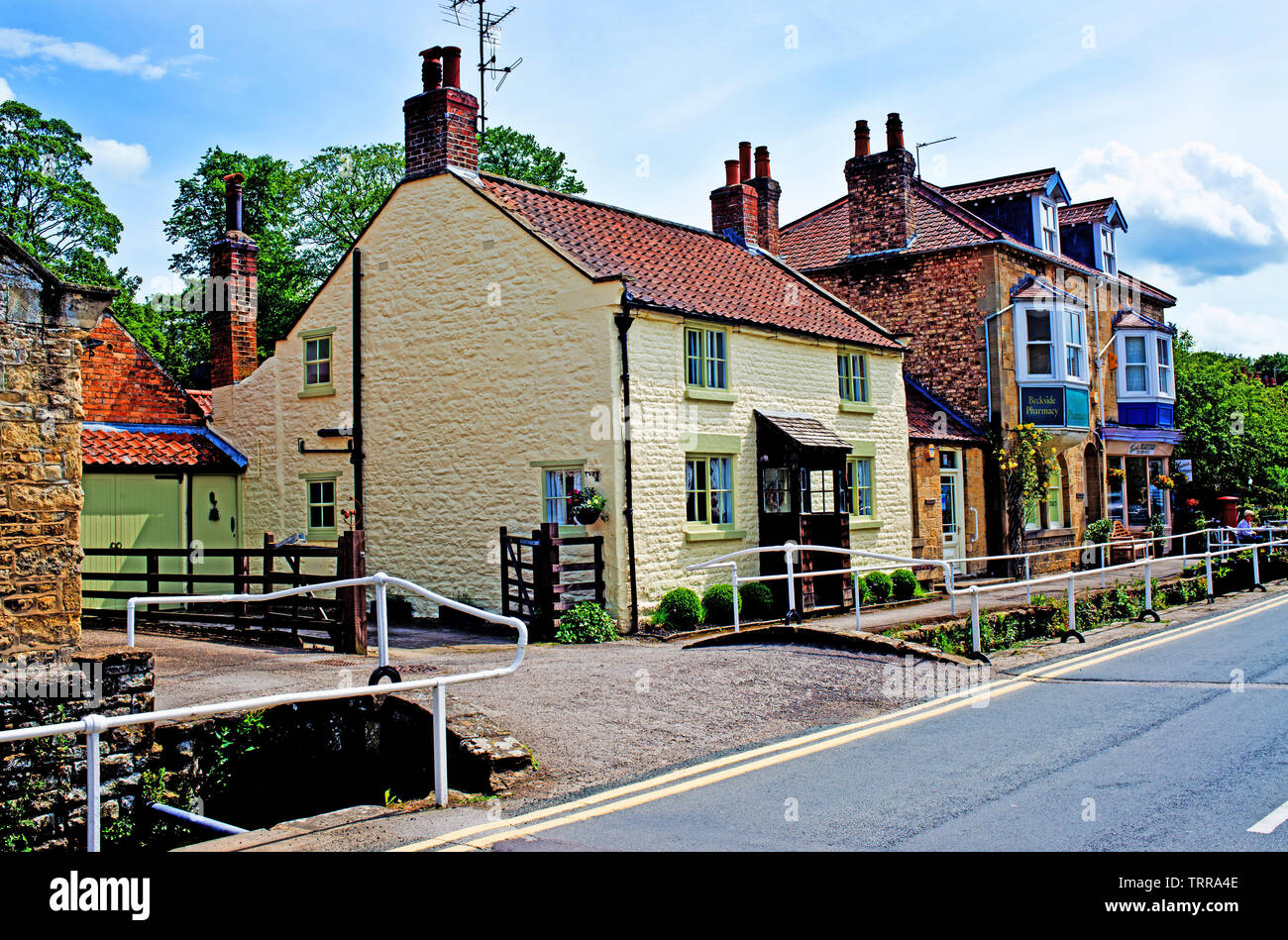 THornton Le Dale, North Yorkshire, England Stock Photo