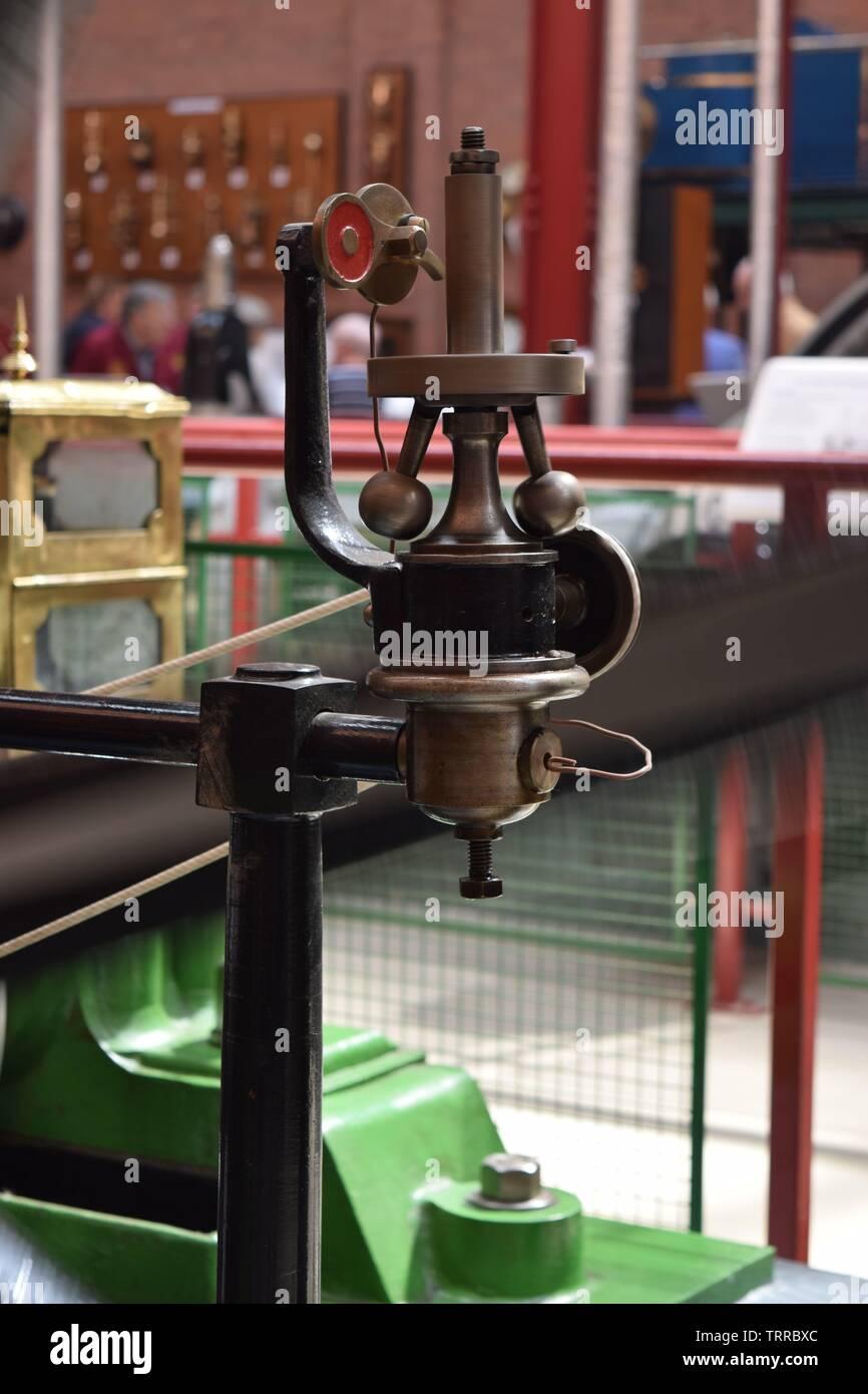 Bolton Steam Museum, Lancashire, UK - Stock Image