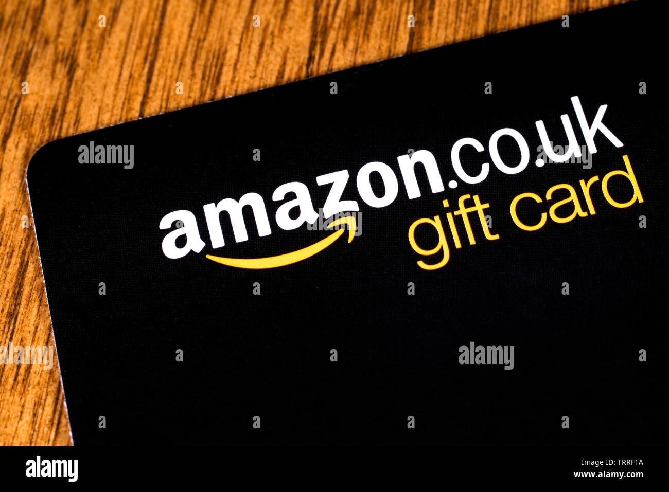 Amazon Gift Card Stock Photos & Amazon Gift Card Stock