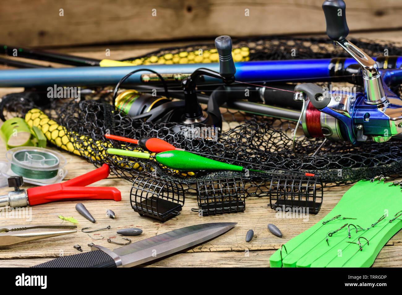 Fishing Tackle Fishing Rods Floats Fishing Rod Holder Knife