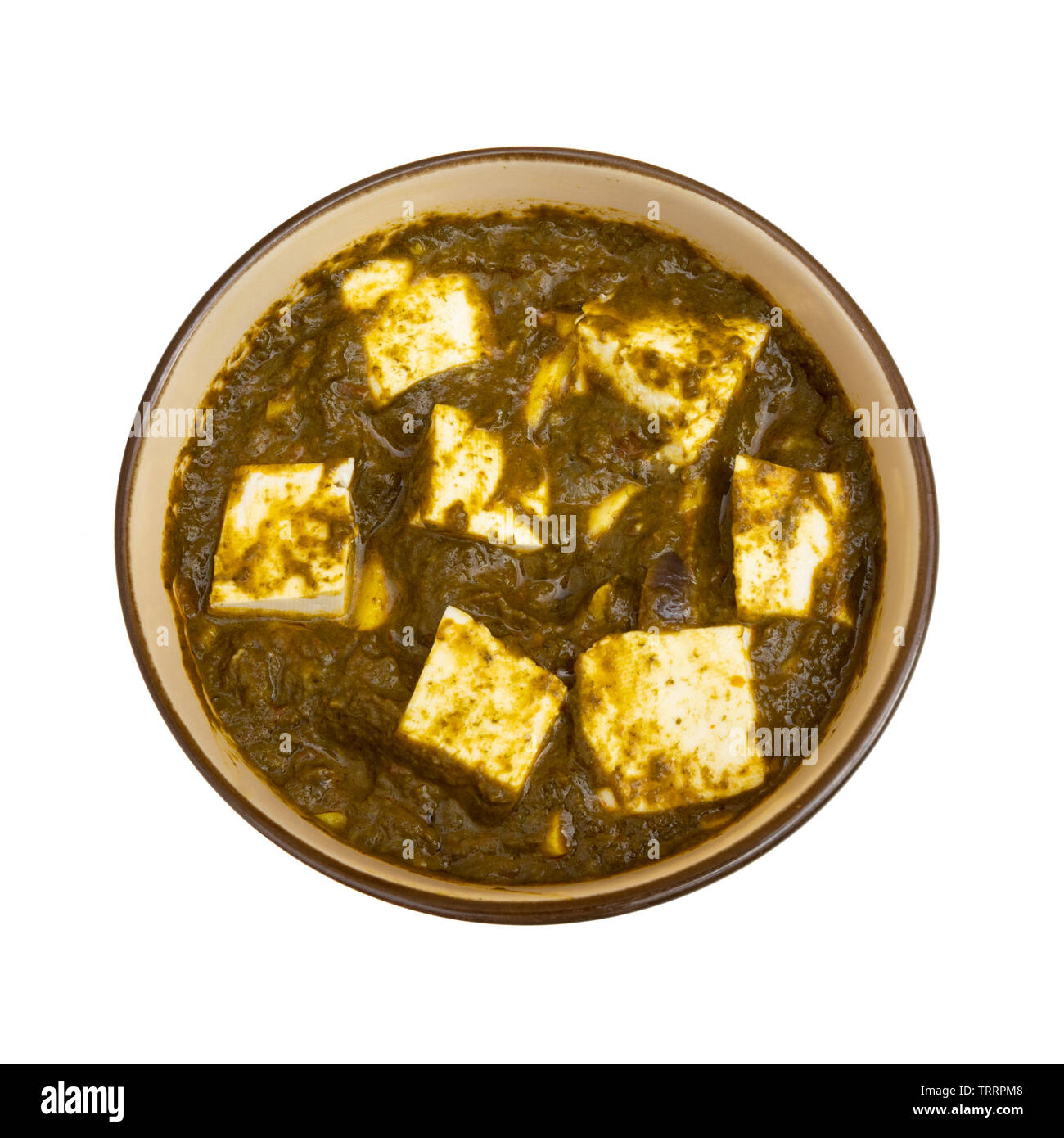 Palak Paneer Or Spinach And Cottage Cheese Curry A Main