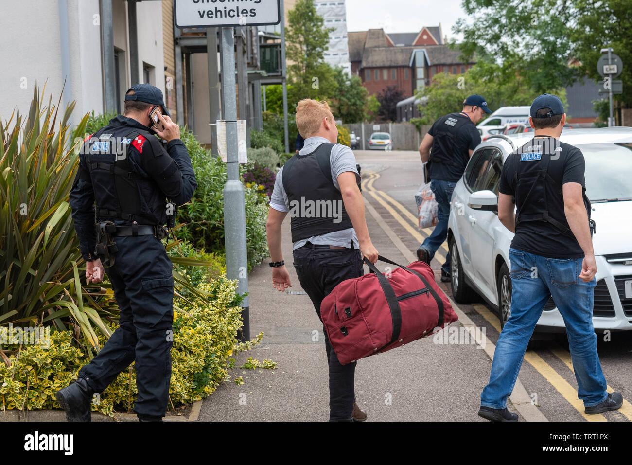 Police Crackdown Stock Photos & Police Crackdown Stock