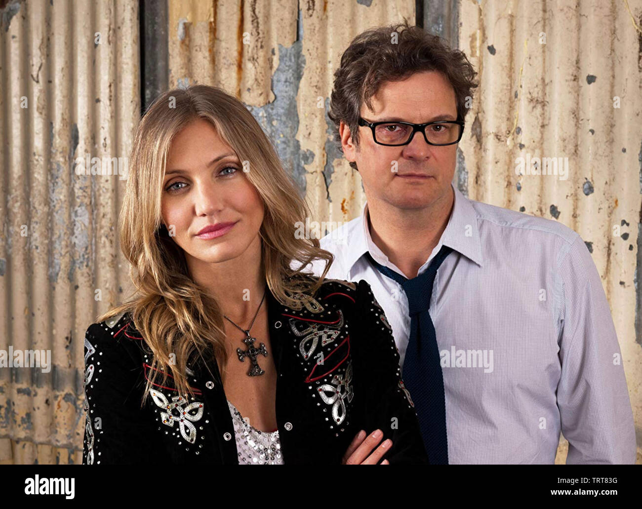 GAMBIT 2012 Momentum Pictures film with Cameron Diaz and Colin Firth - Stock Image