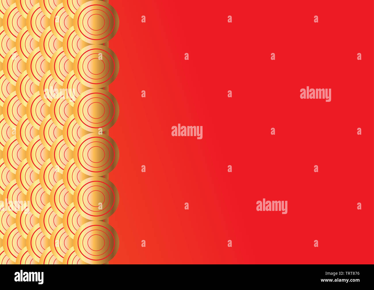 Chinese pattern,oriental background for New Year. illustration. art work. - Stock Image