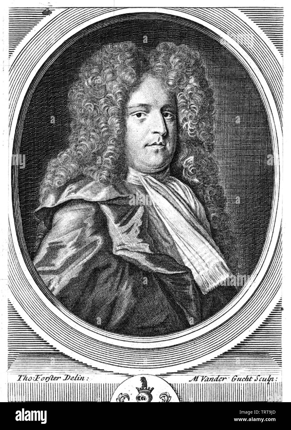 RICHARD SAVAGE (1697-1743) English poet - Stock Image