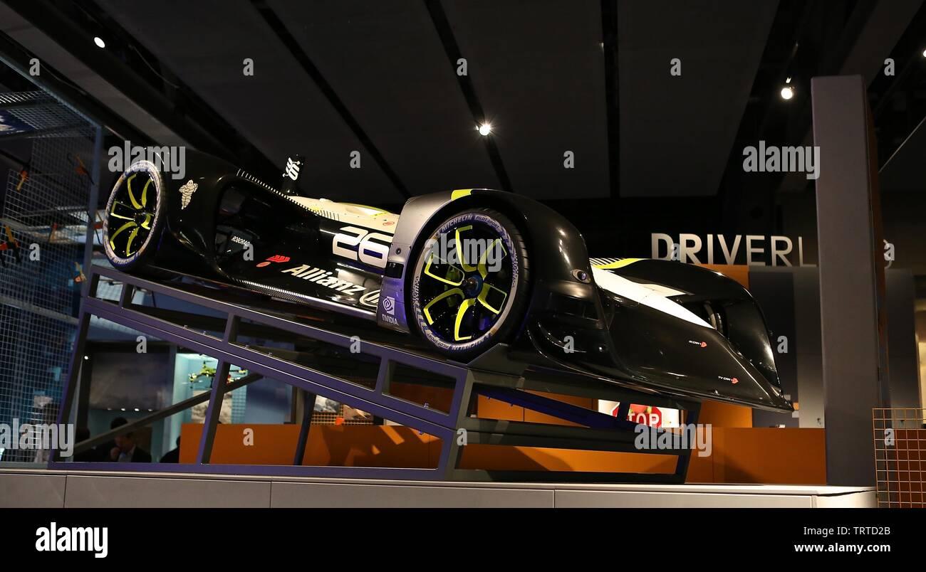 The Science Museum Explores A future Driven By Autonomous Vehicles 12 June 2019 - Stock Image