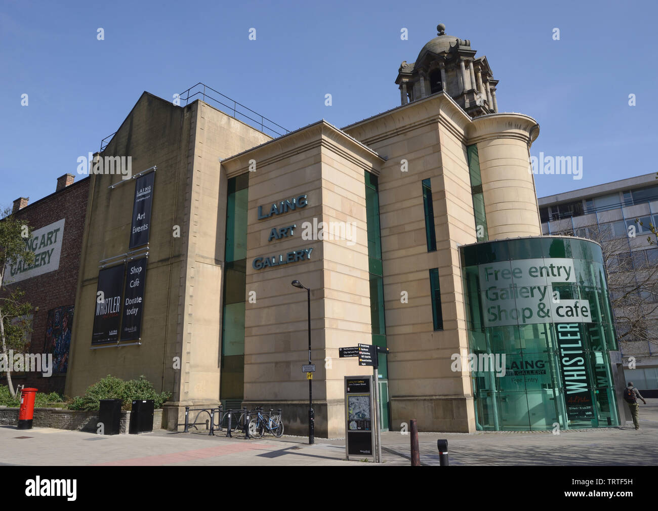 The Laing Art Gallery Newcastle upon Tyne Stock Photo
