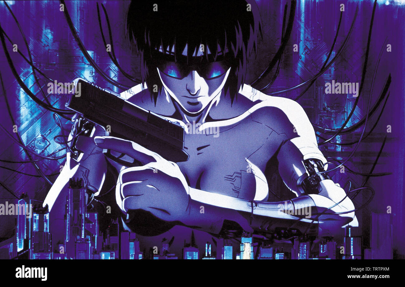 Ghost In The Shell 1995 Original Title Kokaku Kidotai Copyright Editorial Use Only No Merchandising Or
