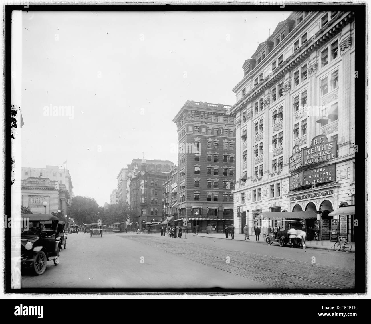 Photograph of a Standard Auto Parts Store Washington DC  Year 1926  8x10