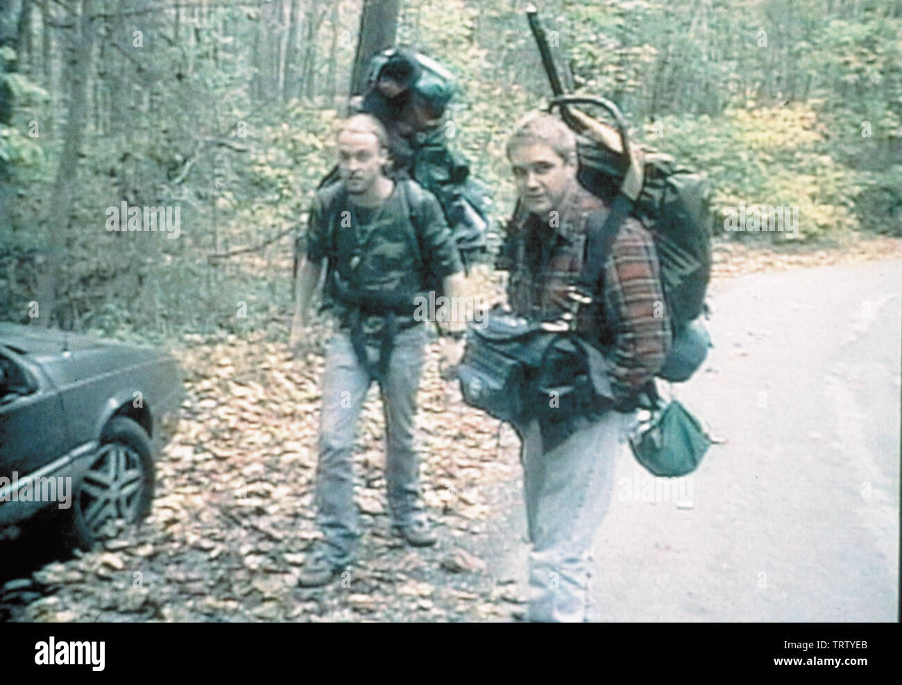 THE BLAIR WITCH PROJECT (1999). Copyright: Editorial use only. No merchandising or book covers. This is a publicly distributed handout. Access rights only, no license of copyright provided. Only to be reproduced in conjunction with promotion of this film. Credit: HAXAN FILMS / Album - Stock Image