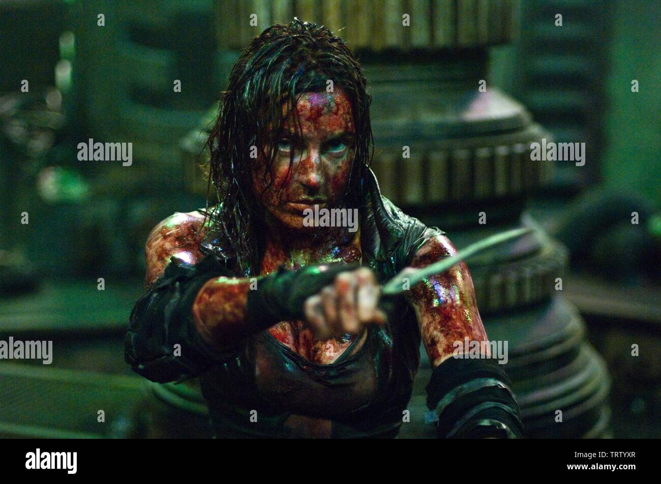 ANTJE TRAUE in PANDORUM (2009). Copyright: Editorial use only. No merchandising or book covers. This is a publicly distributed handout. Access rights only, no license of copyright provided. Only to be reproduced in conjunction with promotion of this film. Credit: CONSTANTIN FILM / Album - Stock Image