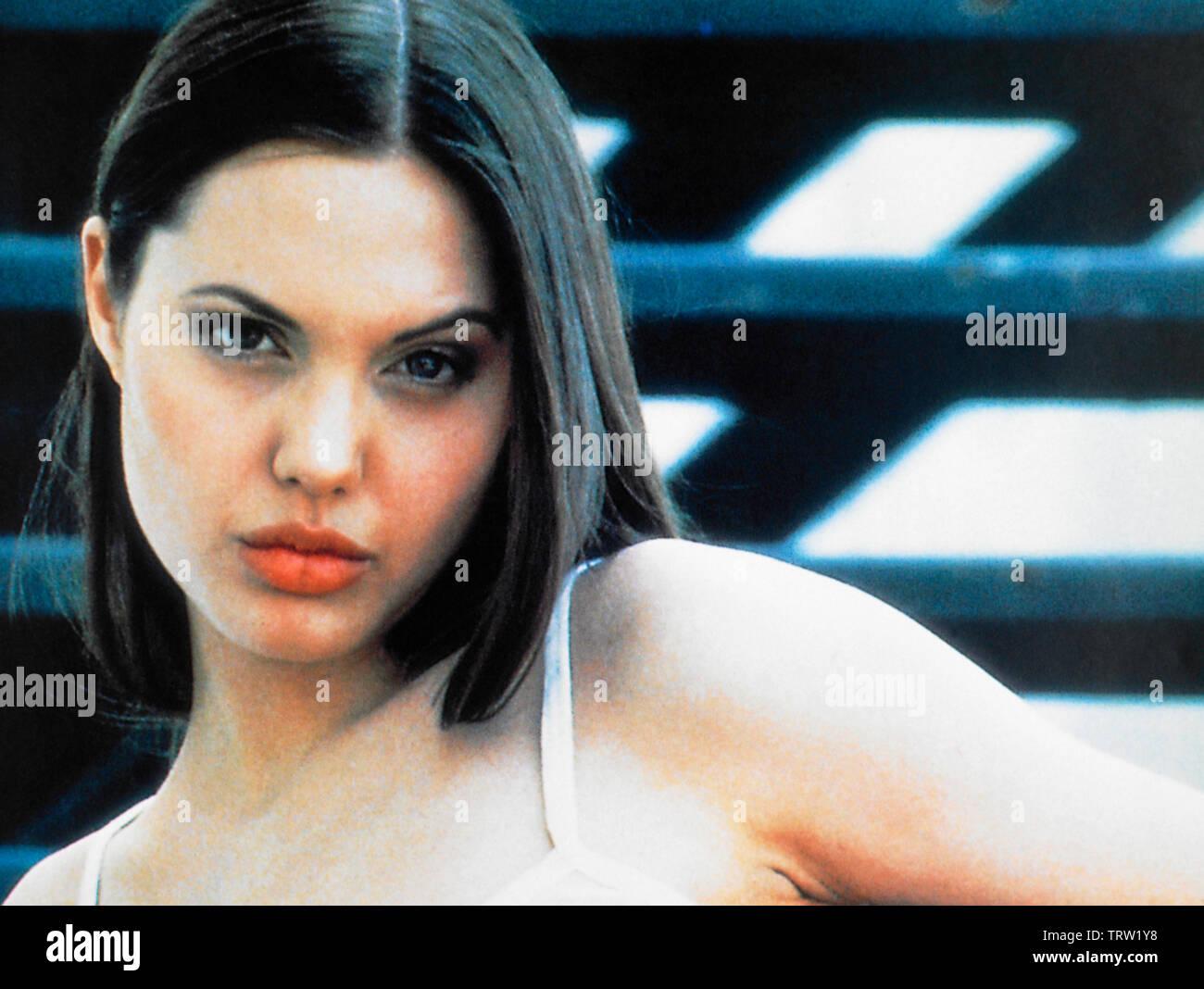 Angelina Jolie Cyborg 2 1993 angelina jolie in cyborg 2 (1993). copyright: editorial use