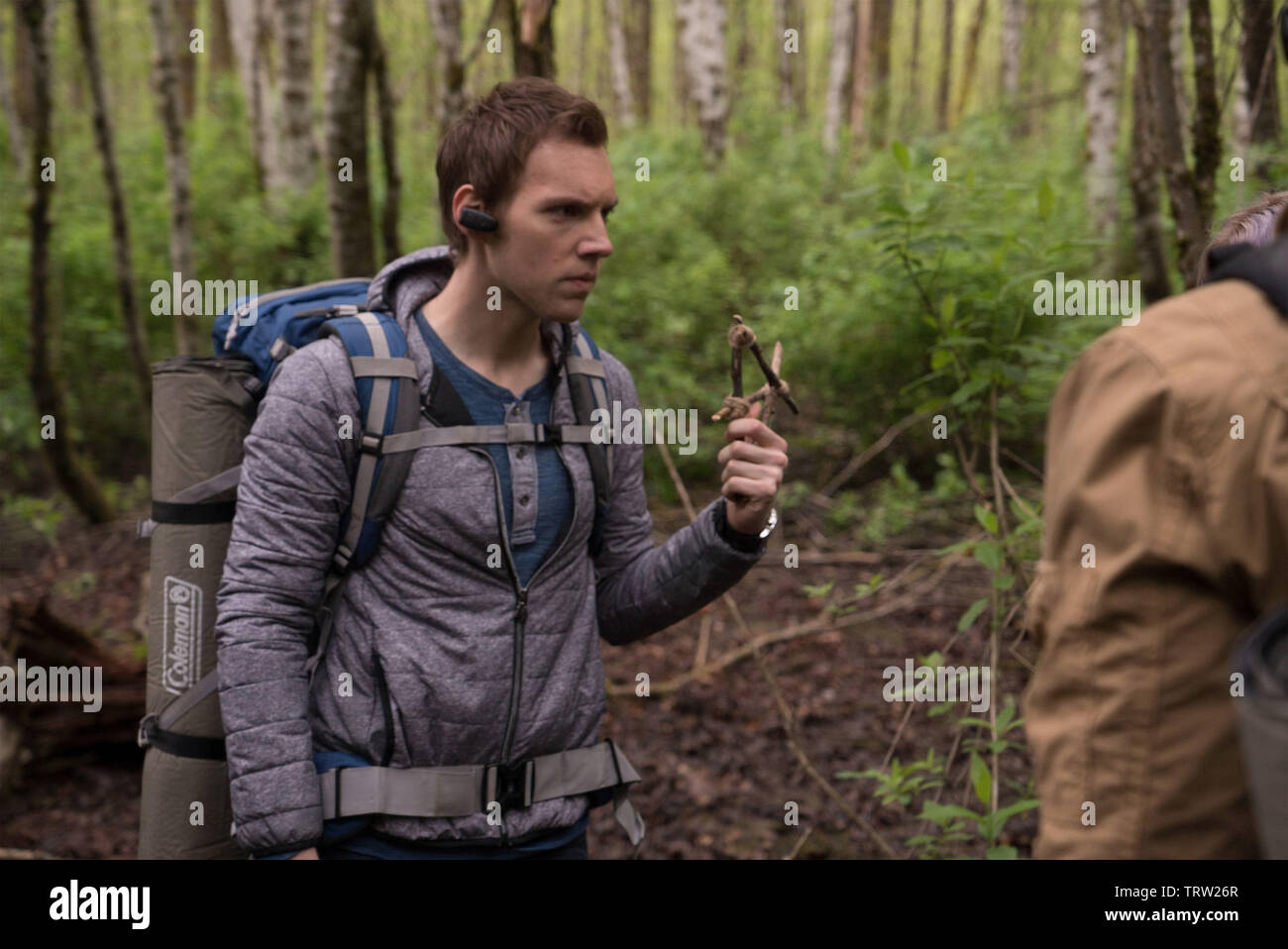 JAMES ALLEN MCCUNE in BLAIR WITCH (2016). Copyright: Editorial use only. No merchandising or book covers. This is a publicly distributed handout. Access rights only, no license of copyright provided. Only to be reproduced in conjunction with promotion of this film. Credit: LIONSGATE/ROOM 101/SNOOT ENT/VERTIGO ENT. / HELCERMANAS-BENGE, CHRIS / Album - Stock Image