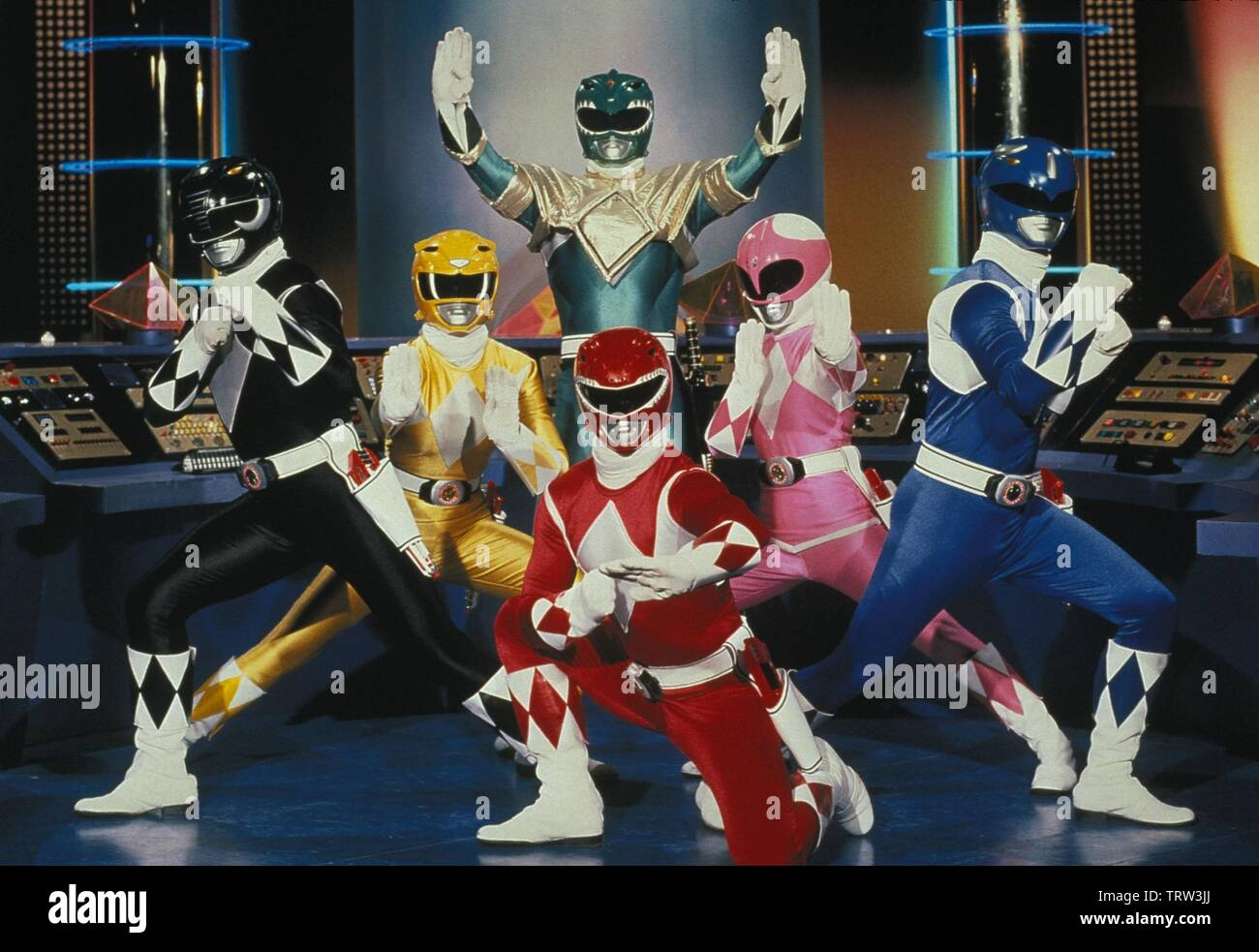 MIGHTY MORPHIN POWER RANGERS (1993). Copyright: Editorial use only. No merchandising or book covers. This is a publicly distributed handout. Access rights only, no license of copyright provided. Only to be reproduced in conjunction with promotion of this film. Credit: TOEI CO. LTD. / Album - Stock Image