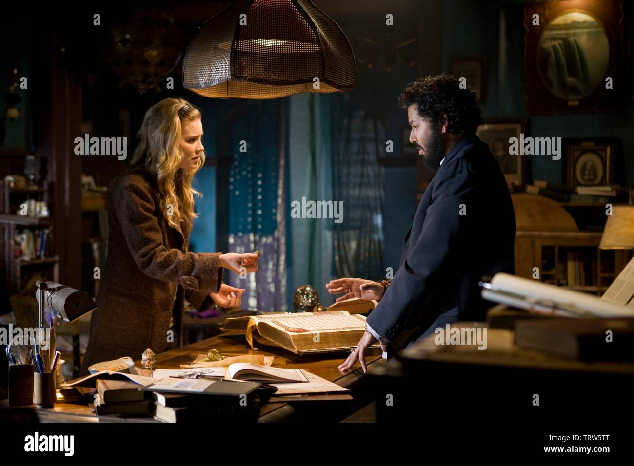 Alison Lohman And Dileep Rao In Drag Me To Hell 2009