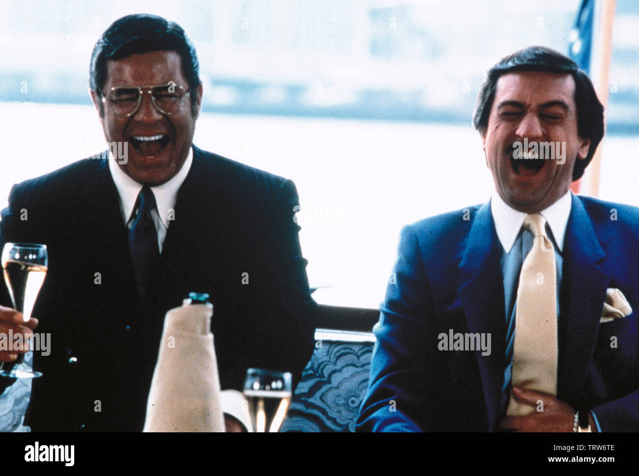 JERRY LEWIS and ROBERT DE NIRO in THE KING OF COMEDY (1982). Copyright: Editorial use only. No merchandising or book covers. This is a publicly distributed handout. Access rights only, no license of copyright provided. Only to be reproduced in conjunction with promotion of this film. Credit: 20TH CENTURY FOX / Album - Stock Image