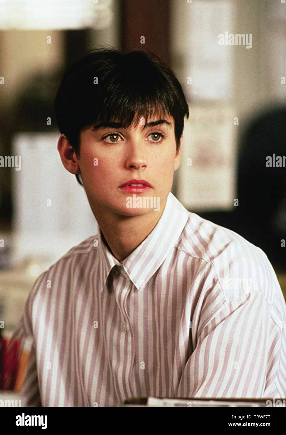 GHOST 1990 Paramount Pictures film with Demi Moore - Stock Image