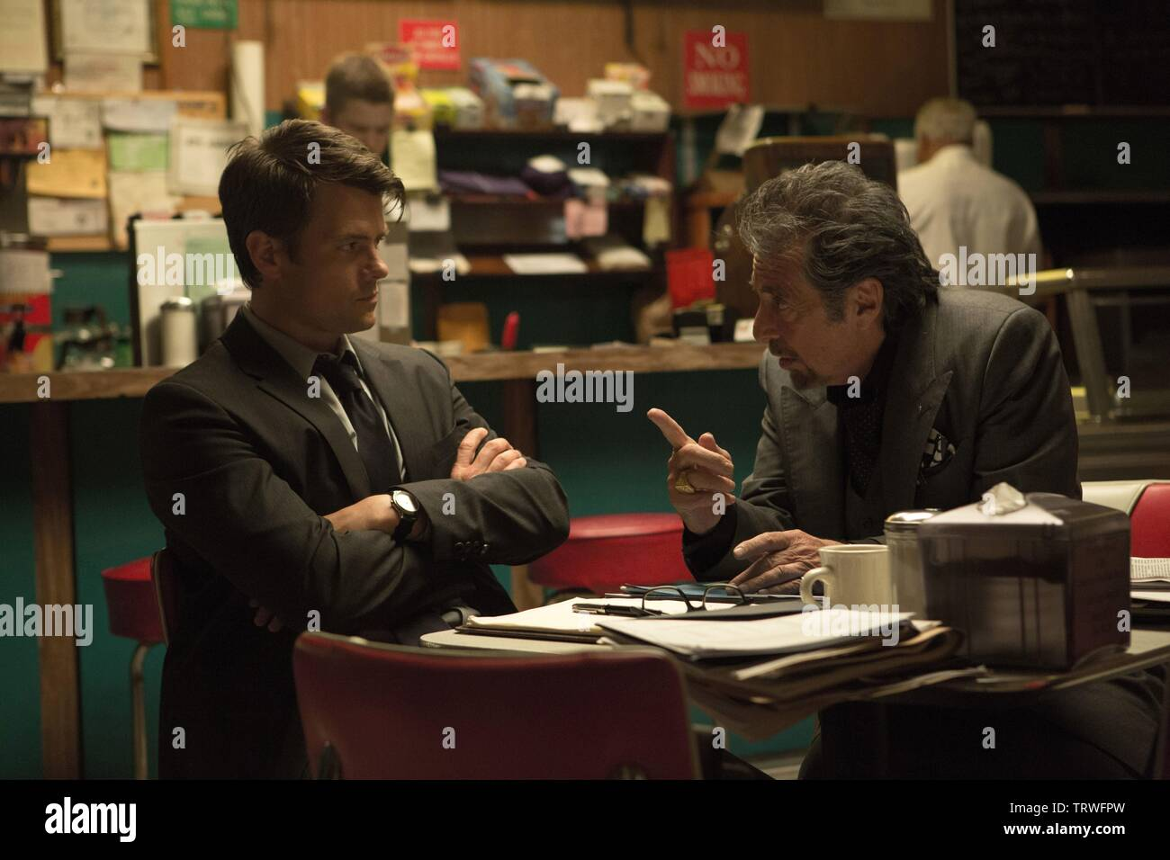 AL PACINO and JOSH DUHAMEL in MISCONDUCT (2016). Copyright: Editorial use only. No merchandising or book covers. This is a publicly distributed handout. Access rights only, no license of copyright provided. Only to be reproduced in conjunction with promotion of this film. Credit: MIKE AND MARTY PRODUCTIONS / Album Stock Photo