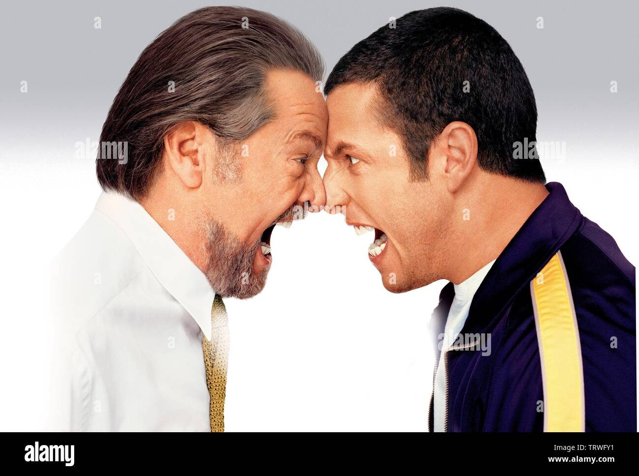 Adam Sandler And Jack Nicholson In Anger Management 2003 Copyright Editorial Use Only No Merchandising Or