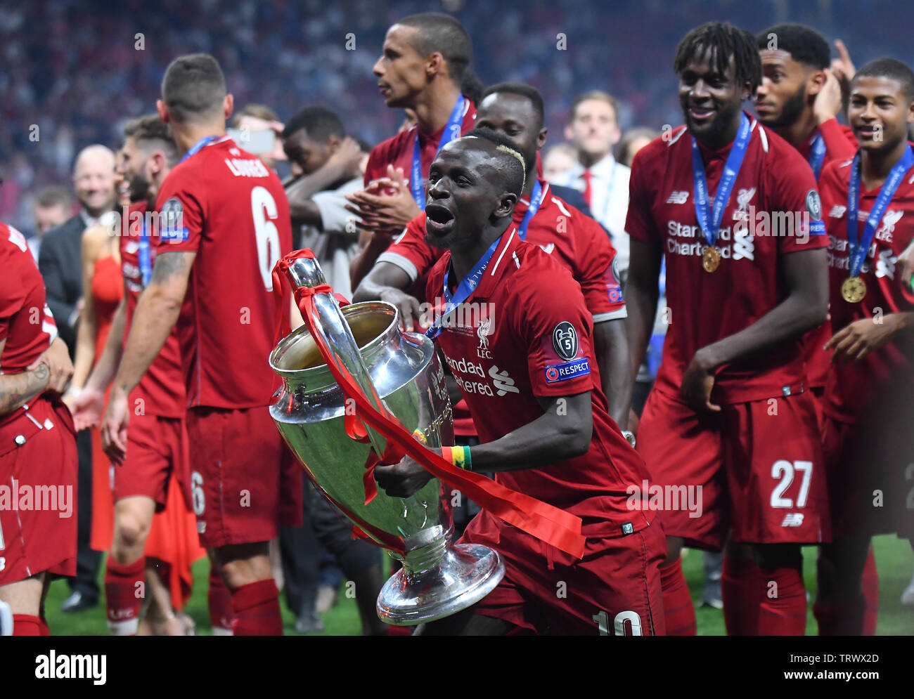 Liverpool Fc Champions League Squad 201819