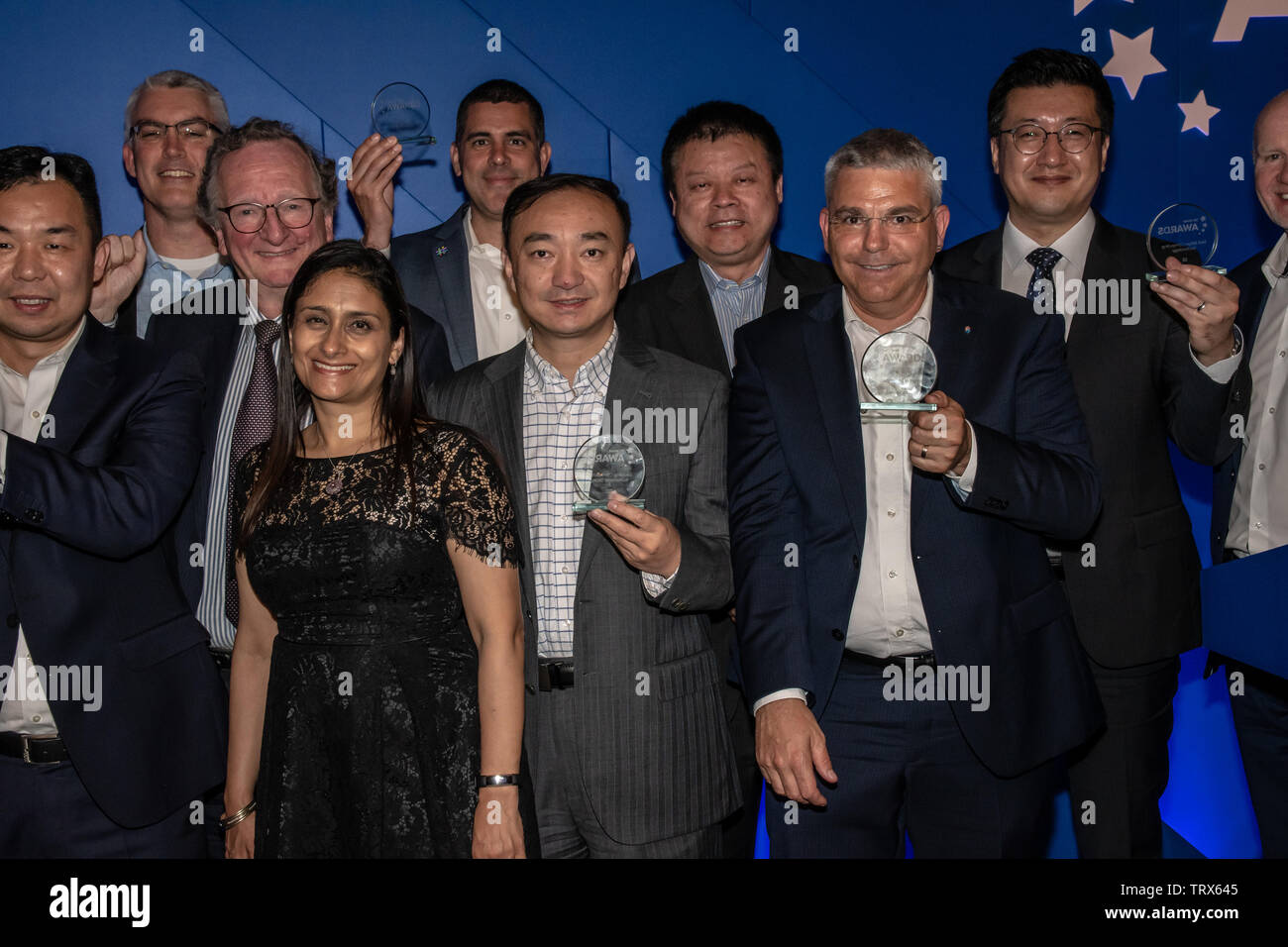 London, UK. 12th June, 2019. 5G Awards ceremony at Drapers' Hall, on 12 June 2019, London, UK. Credit: Picture Capital/Alamy Live News Stock Photo