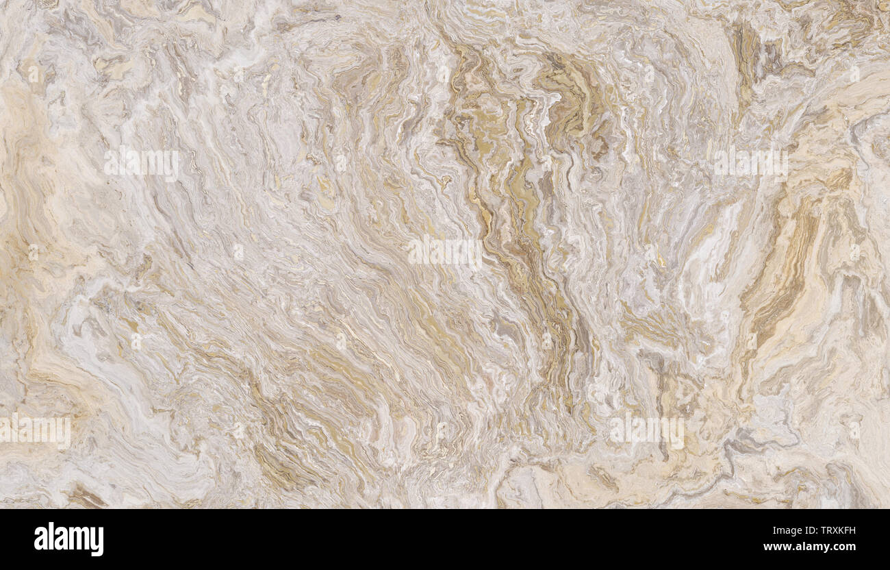 27520c9e White travertine marble pattern with gold inclusions. Abstract texture and  background. 2D illustration -