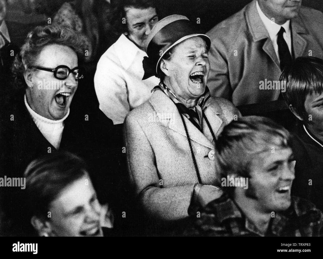 Laughing Audience High Resolution Stock Photography and Images - Alamy