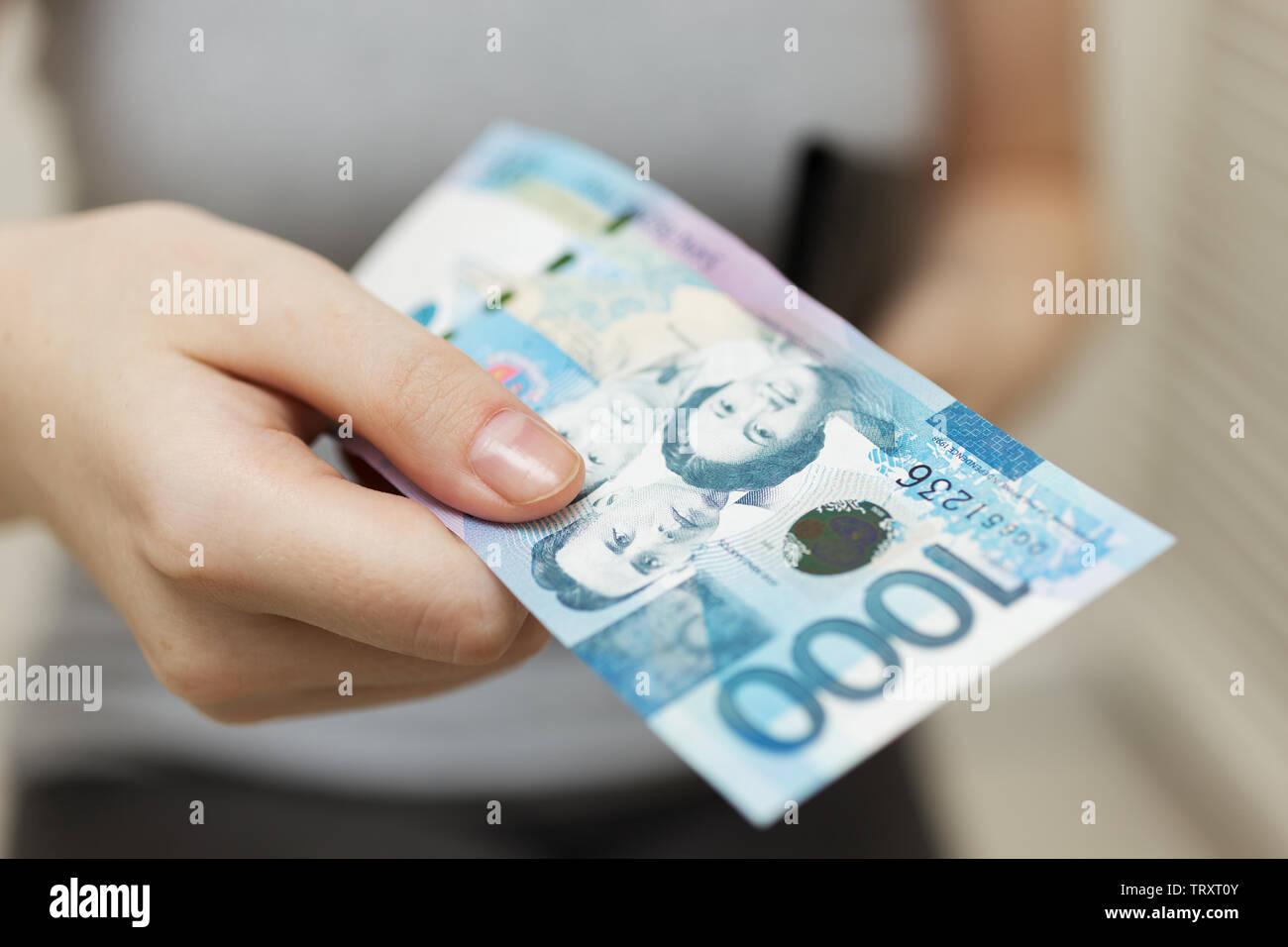One Thousand Pesos Stock Photos & One Thousand Pesos Stock Images