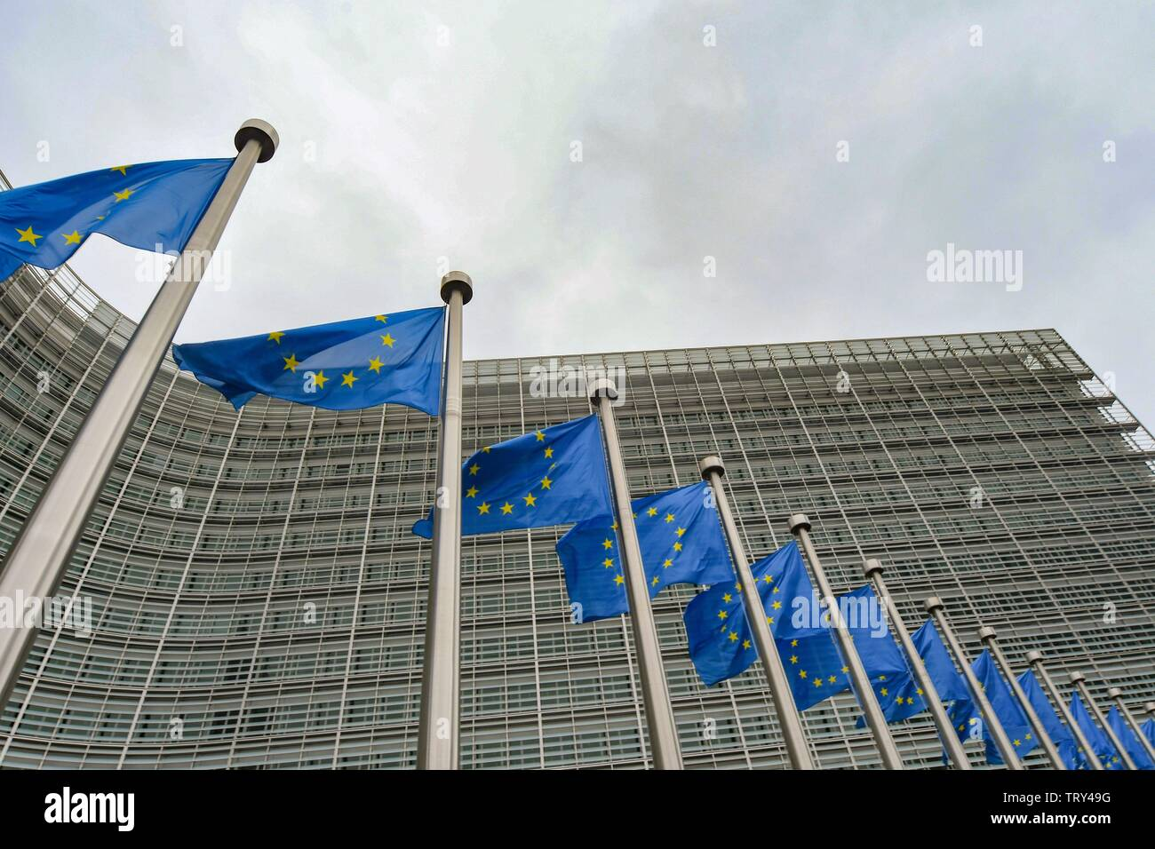 European Commission in Brussels  (Bruxelles) , March 2, 2019 | usage worldwide - Stock Image