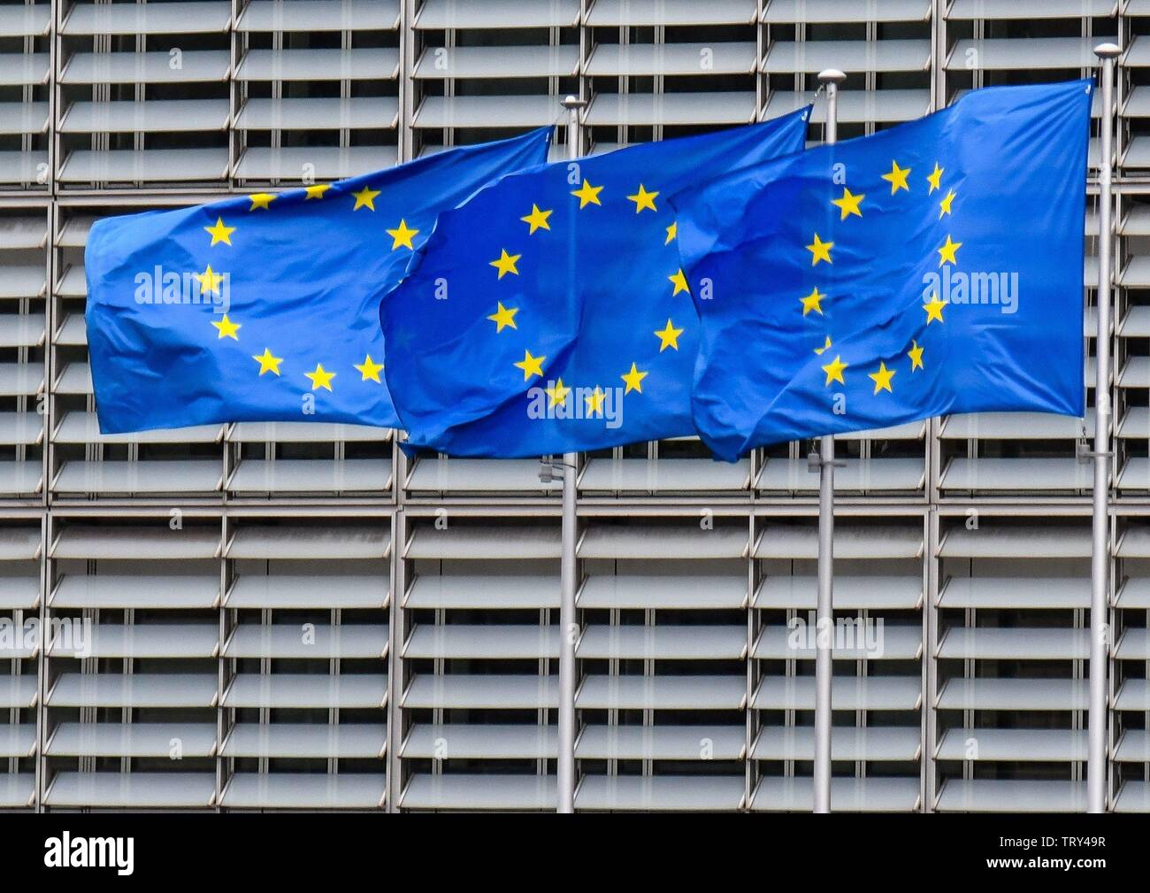 European Commission in Brussels  ( Bruxelles) , March 2 2019 | usage worldwide - Stock Image