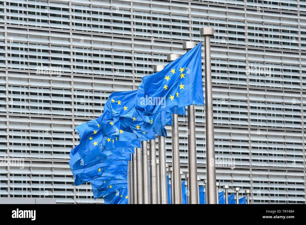 European Commission in Brussels , March 2,  2019 | usage worldwide - Stock Image