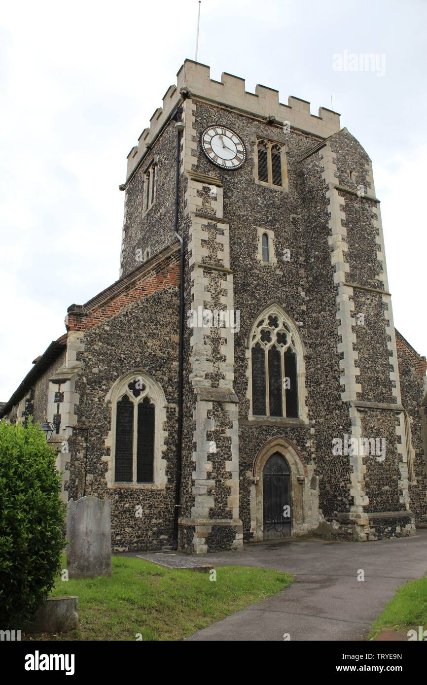 Stone Parish church - Stock Image