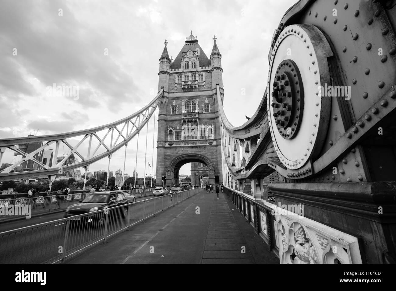 One of London's iconic landmarks - Stock Image