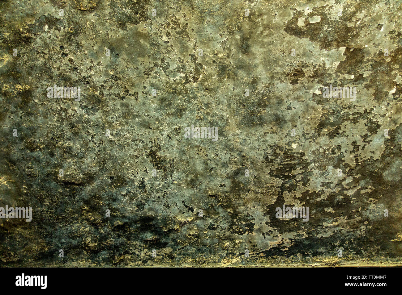 Soot Stained Ceiling - Stock Image