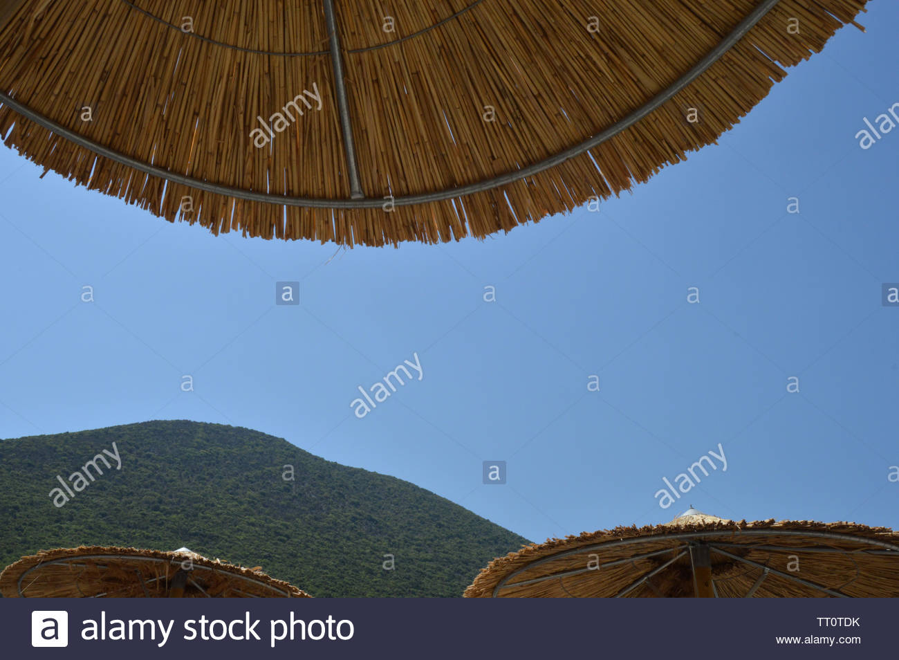 A hot day on Kefalonia - Stock Image