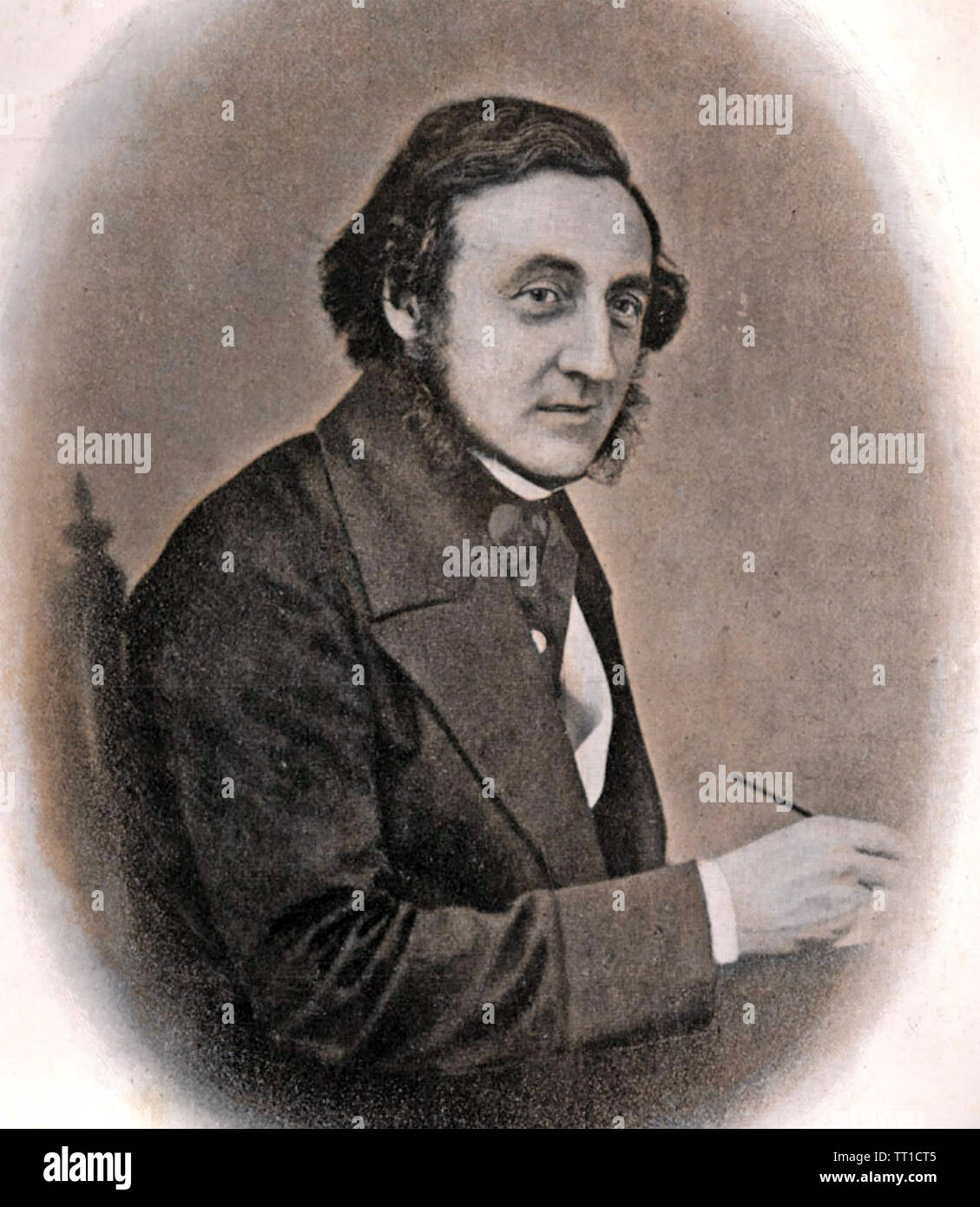 JACOB BELL (1810-1859) English MP and chemist Stock Photo