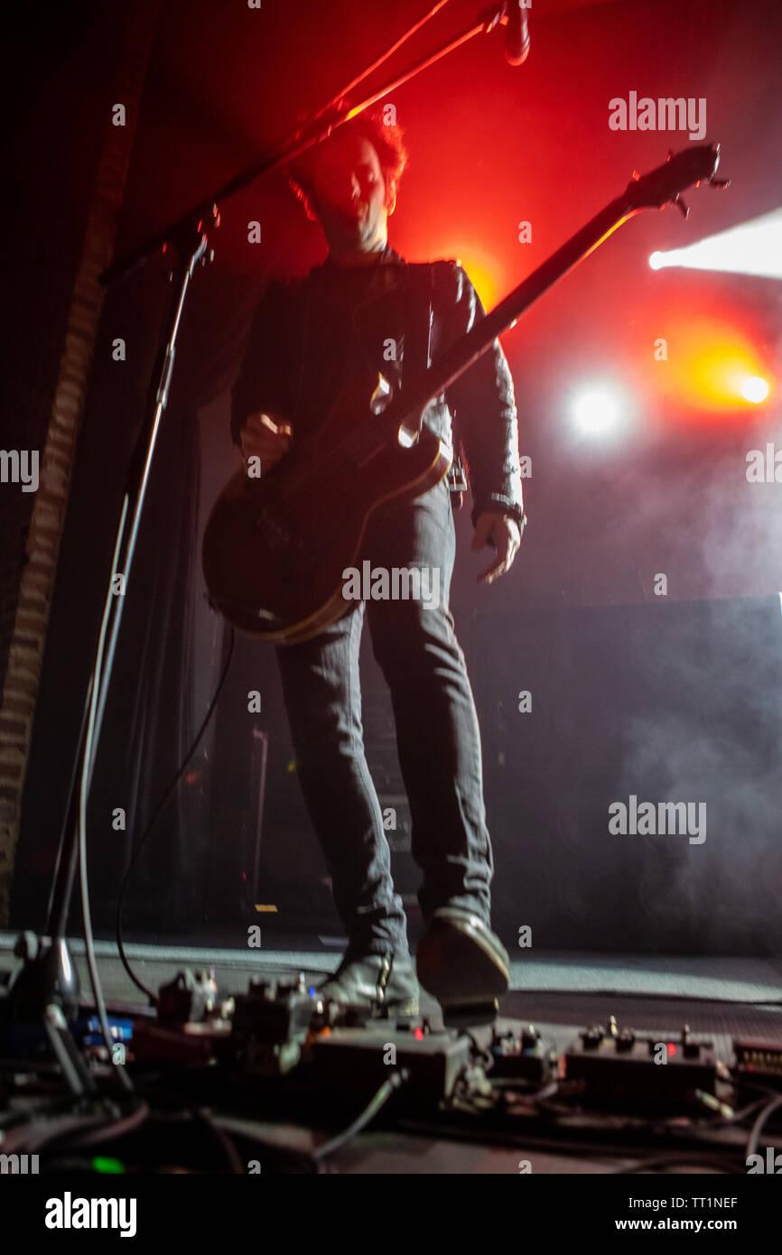 June 14th 2019. Zagreb, Croatia: Concert of American rock band Black Rebel Motorcycle Club from San Francisco, California in Zagreb Stock Photo