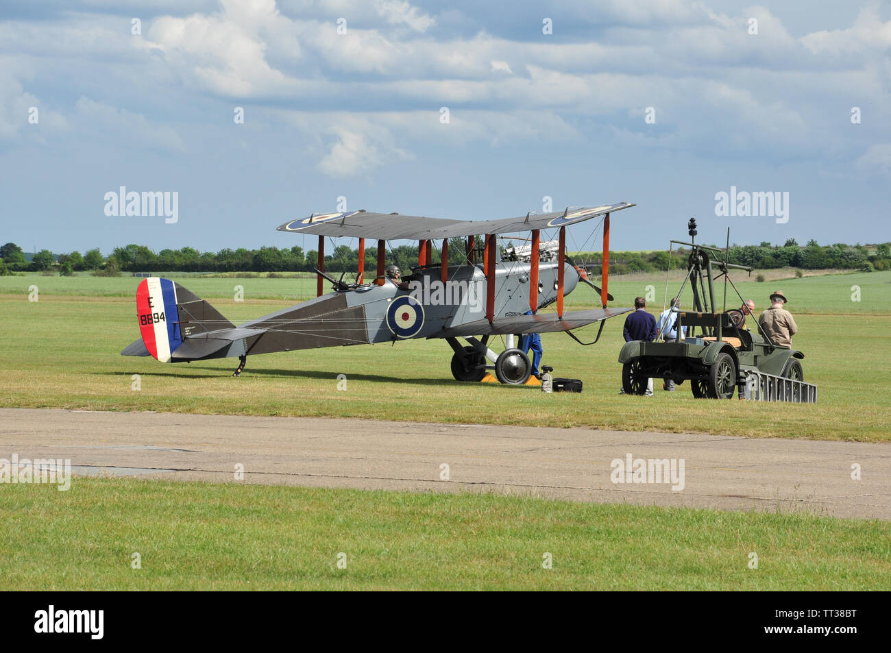 Airco / De Havilland DH-9 (E-8894), Duxford, Cambridgeshire, England, UK. - Stock Image