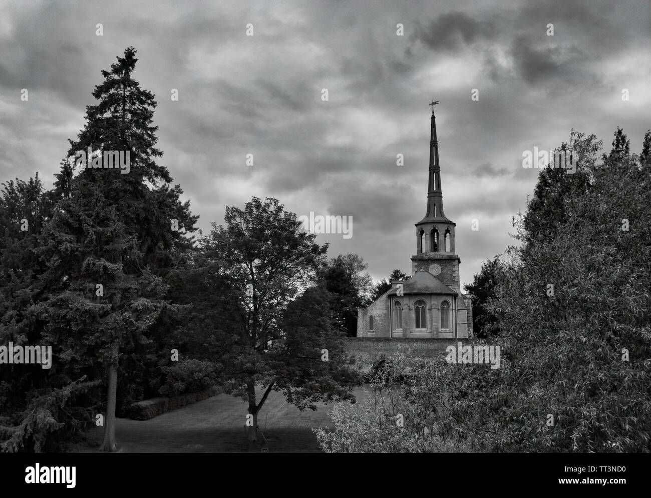 St Peter's Church, Wallingford - Stock Image