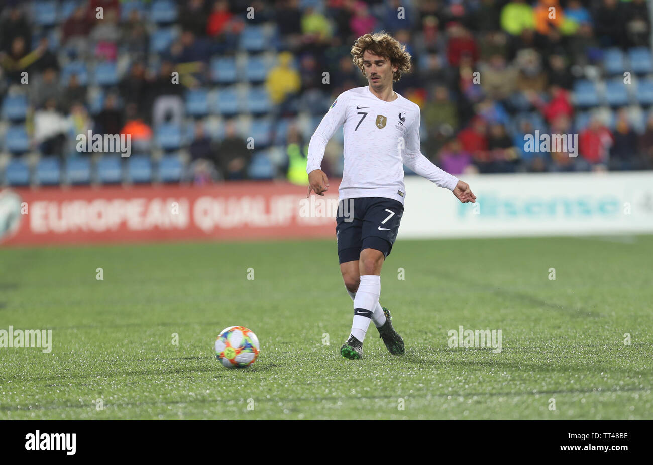 Antoine Griezmann of France during the UEFA Euro 2020 Qualifying Group H football match between Andorra and France on June 11, 2019 at Estadi Nacional in Andorra la Vella, Andorra - Photo Laurent Lairys / DPPI Stock Photo
