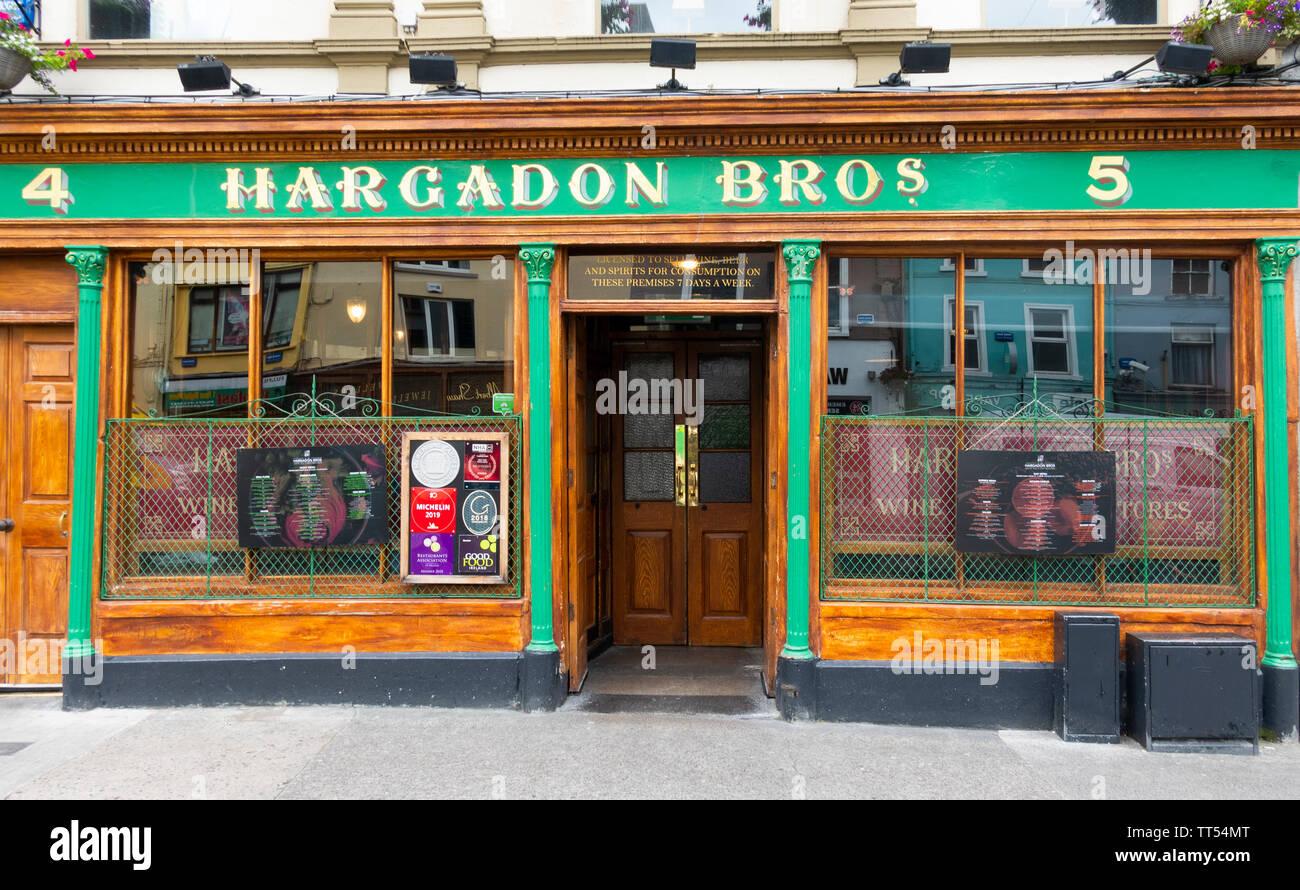 Hargadon Bros Bar, a traditional Irish pub in Sligo, Ireland - Stock Image