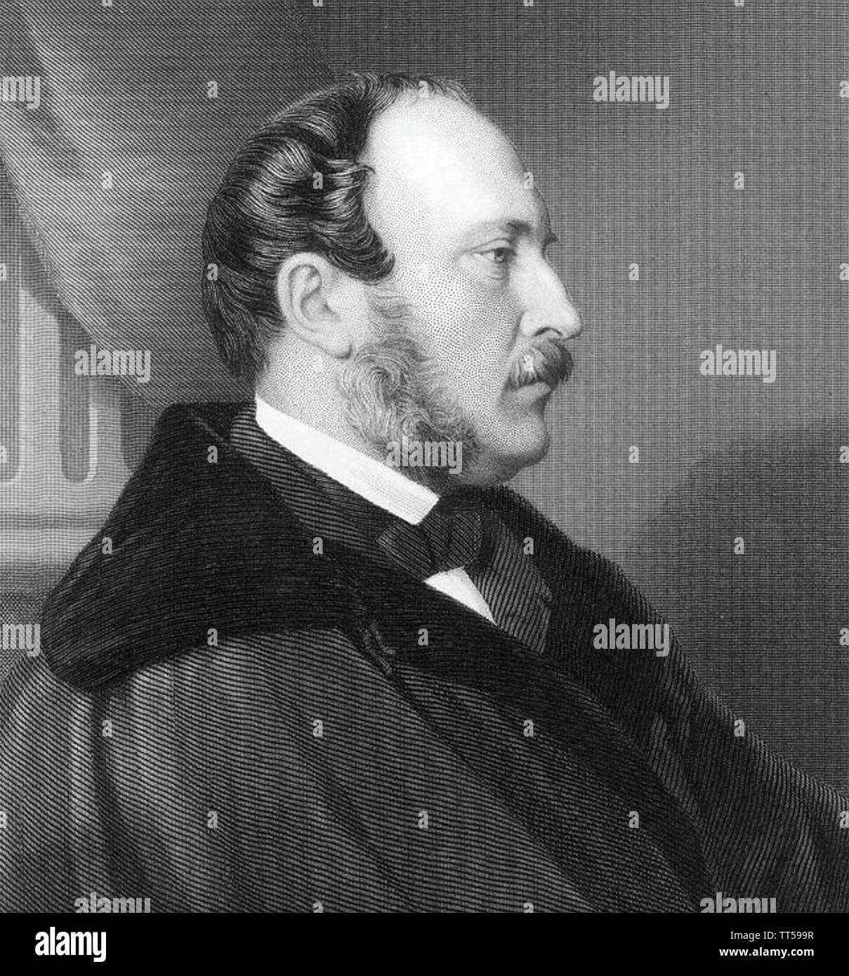 ALBERT,PRINCE CONSORT (1819-1861) husband of Queen Victoria about 1860 - Stock Image