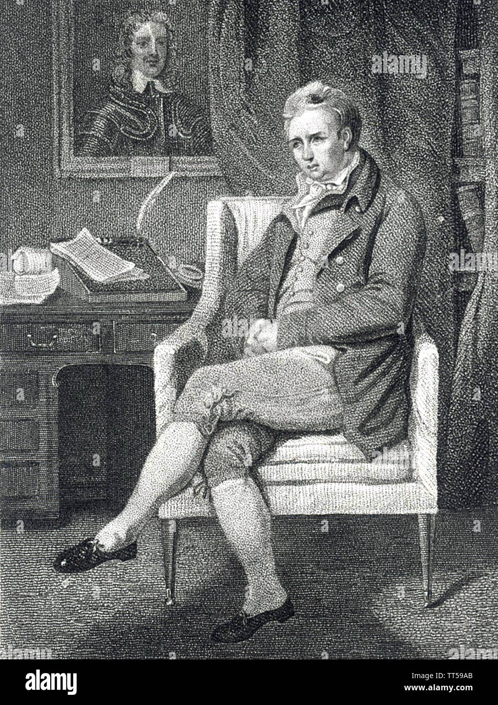WILLIAM COBBETT (1763-1835) English farmer ,journalist and electoral reformer Stock Photo